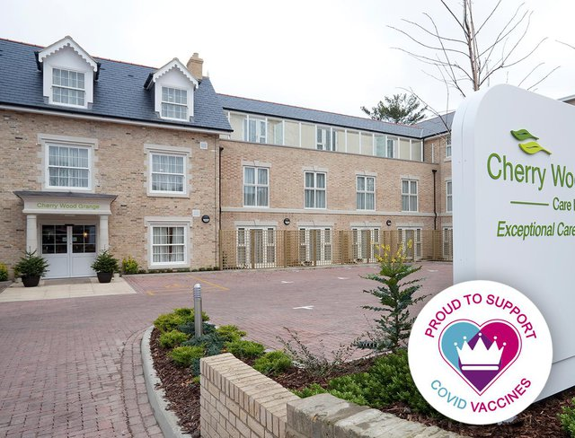 Cherry Wood Grange Care Home Chelmsford Exterior of Home