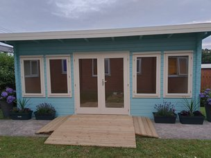 Cabinstore's Care Home Visiting Pods