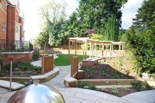 Rear Garden at The Beeches