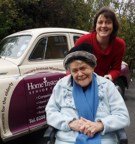 Home Instead Senior Care Wandsworth - lady in wheelchair