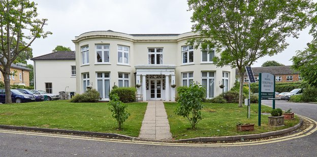 Chorleywood Beaumont Nursing Home in Chorleywood exterior of home