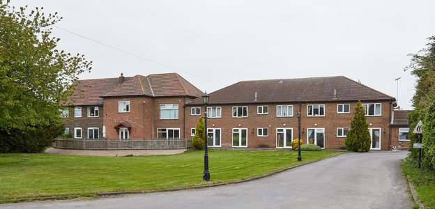 Hickathrift House Care Home in Wisbech exterior of the home