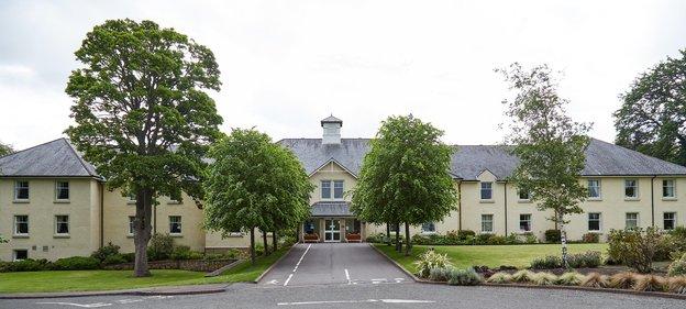 Drummond Grange Nursing Home in Lasswade exterior of home
