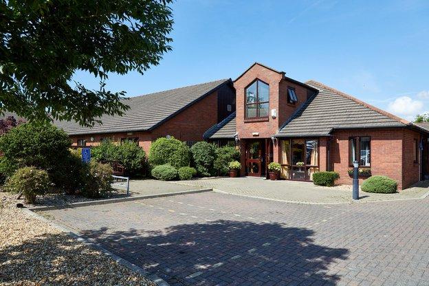 Newlands Nursing Home in Workingtonb exterior of home