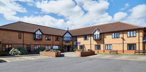 The Hawthorns Neurological Rehabilitation Centre in Peterlee exterior of the home