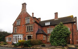 Seale Pastures House Care Home in Swadlincote front exterior of home