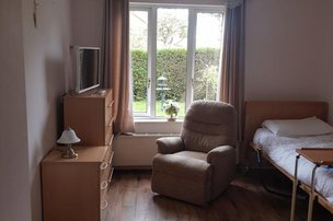 Abbey View Care Home Bangor Bedroom