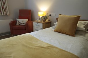 Abbey Wood Lodge Care Home Ormskirk Bedroom