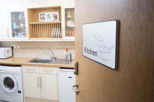 Abbey Wood Lodge Care Home Ormskirk Kitchenette