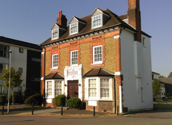 Acton Nursing Home in London exterior of home