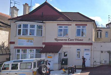 Roseacres Residential Care Home in Whetstone exterior of home