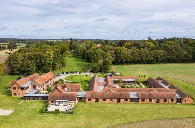Aerial View of Oak Lodge Nursing Home