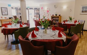 Agincare Gorseway Nursing Home Dining Room