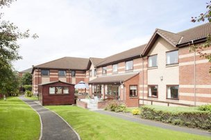 Appleby Nursing Home in North Shields exterior of home