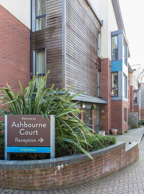 Ashbourne Court Care Home in Andover