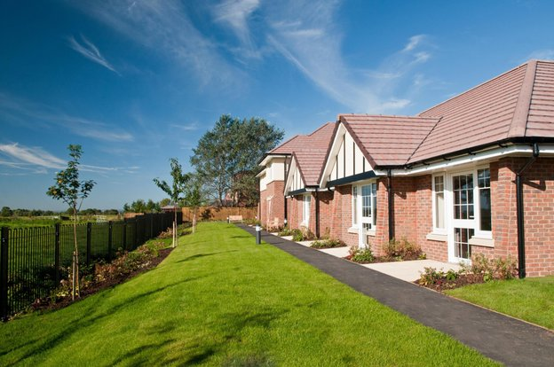 Ashchurch View Nursing Home in Tewkesbury exterior of home