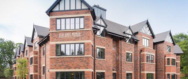 Ashlands Manor Care Home in Sale
