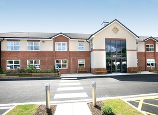 Ashworth Grange Care Home in Dewsbury, West Yorkshire Exterior