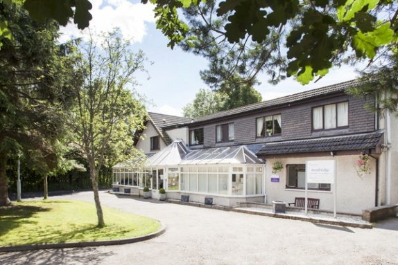 Avonbridge Care Home in Hamilton front exterior