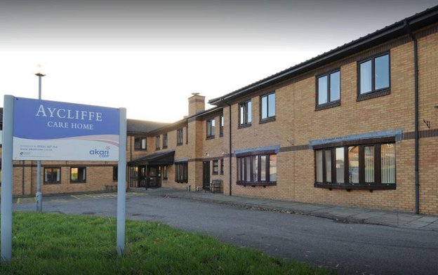 Aycliffe Nursing Home in Newton Aycliffe exterior of building