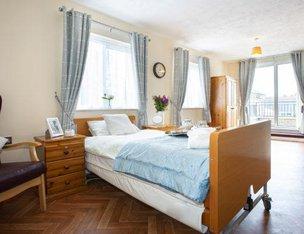 Barnston Court Care Home - bedroom