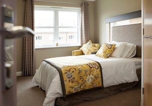 Bedroom at Avocet House