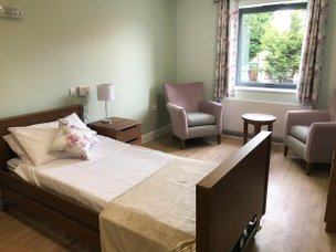 Woodlands Lodge Care Home Liverpool Merseyside bedroom