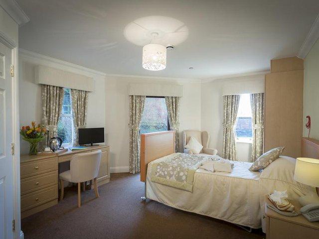 Bedroom in Glebefields Care Home