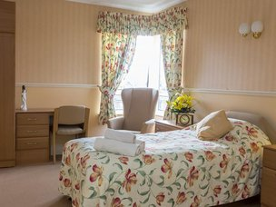Bedroom at Avery Mews Care Home