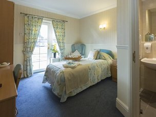 Bedroom in Hall Park Care Home