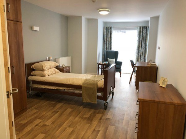 Lighthouse lodge Care Home New Brighton Merseyside Bedroom