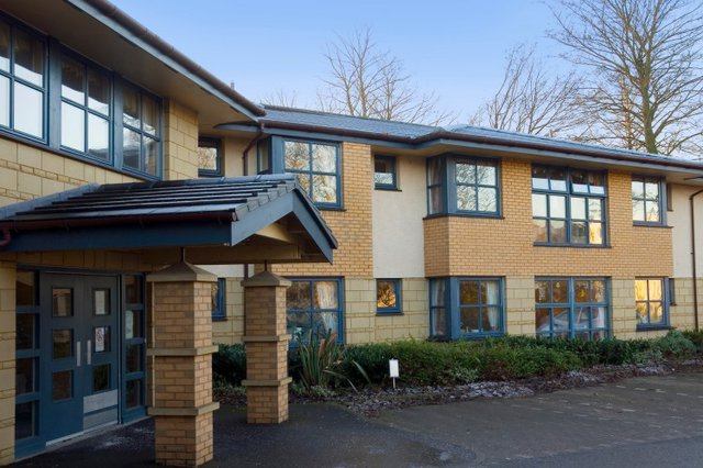 Beechwood Park Nursing Home in Alloa exterior of home