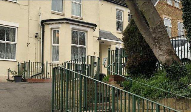 Haslington Lodge Care Home Dartford exterior of home