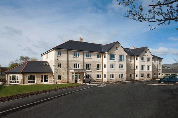 Belvedere Manor Care Home in Colne