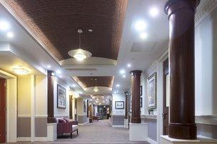 Hallway in Bentley House