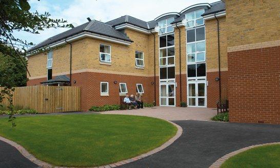 Berwick Grange Care Home in Harrogate
