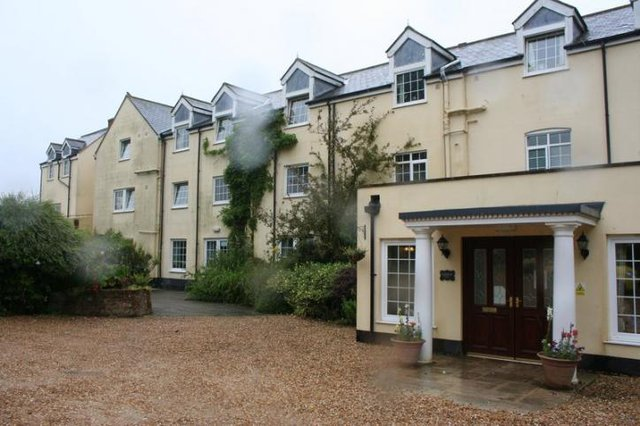 Blackwater Mill Residential Care Home in Newport exterior of home