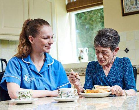 Bluebird Care South Lincolnshire Service User