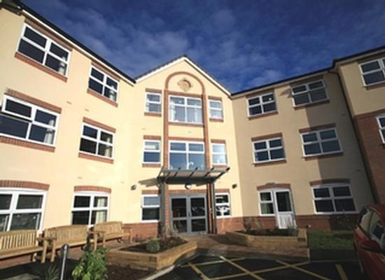 Bowbridge Court Care Home in Newark, Nottinghamshire Exterior