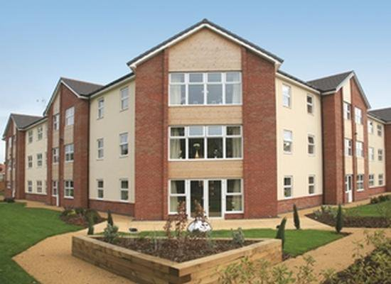 Brinnington Hall Care Home in Stockport, Manchester Exterior