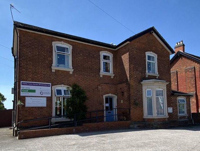 Brookside Residential Home in Stafford