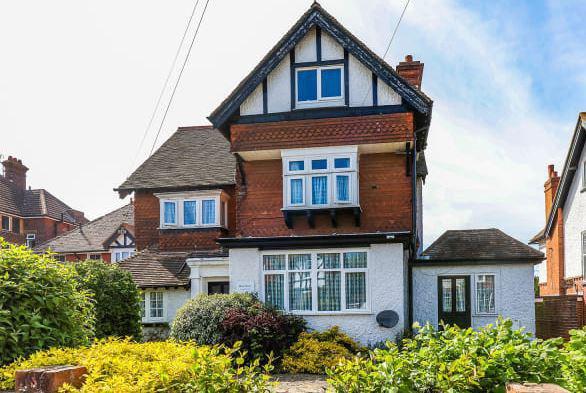 Burnham House Care Home in Folkestone, Kent exterior