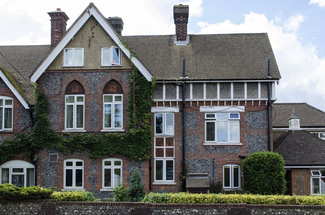 Buxton Lodge Nursing Home in Caterham exterior of home