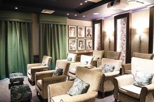 Cinema room in Pembroke House