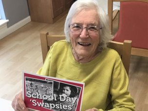Four Seasons Health Care Residents Played 'School Swapsies' With Local Children For World Teachers' Day!