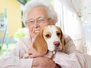 Can I Take a Pet into a Care Home?