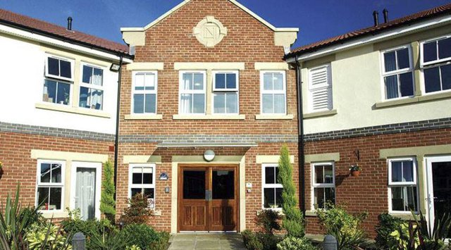 Cantley Grange Care Home in Doncaster front exterior of home