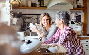 Good Oaks Home Care – Wimbledon and Kingston - Carer with Client