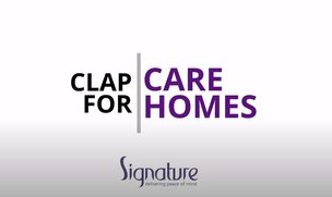 Signature Senior Lifestyle's #ClapForCareHomes Campaign