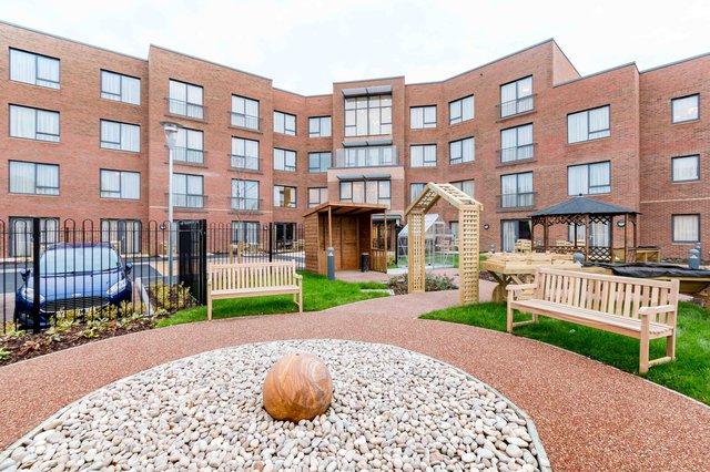 Buchanan Court Nursing Home in Harrow exterior of property